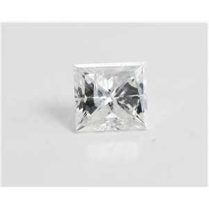 Princess Cut Loose Diamond (0.5 Ct, F Color, I1 Clarity) IGL Certified