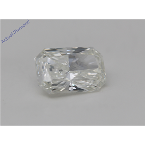 Radiant Cut Loose Diamond (0.63 Ct, K Color, VS1 Clarity) GIA Certified