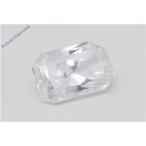 Radiant Cut Loose Diamond (0.54 Ct, D Color, I1 Clarity) GIA Certified