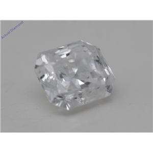 Radiant Cut Loose Diamond (0.51 Ct, D Color, SI2 Clarity) GIA Certified
