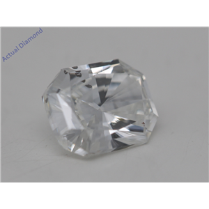 Radiant Cut Loose Diamond (0.5 Ct, G Color, I1 Clarity) GIA Certified