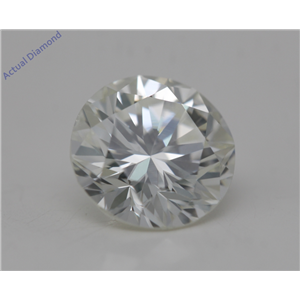 Round Cut Loose Diamond (1.05 Ct, K Color, SI1 Clarity) GIA Certified