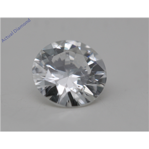 Round Cut Loose Diamond (0.34 Ct, G Color, SI2 Clarity) GIA Certified