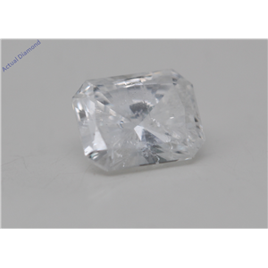 Radiant Cut Loose Diamond (0.44 Ct, D Color, SI2 Clarity) IGL Certified