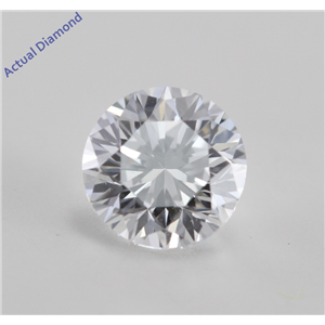 Round Cut Loose Diamond (0.7 Ct, E Color, VVS2 Clarity) GIA Certified