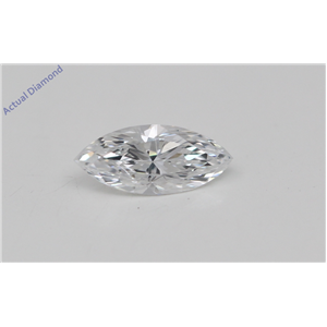 Marquise Cut Loose Diamond (0.34 Ct, E Color, VS1 Clarity) GIA Certified