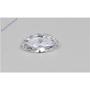 Marquise Cut Loose Diamond (0.28 Ct, D Color, VS1 Clarity) GIA Certified